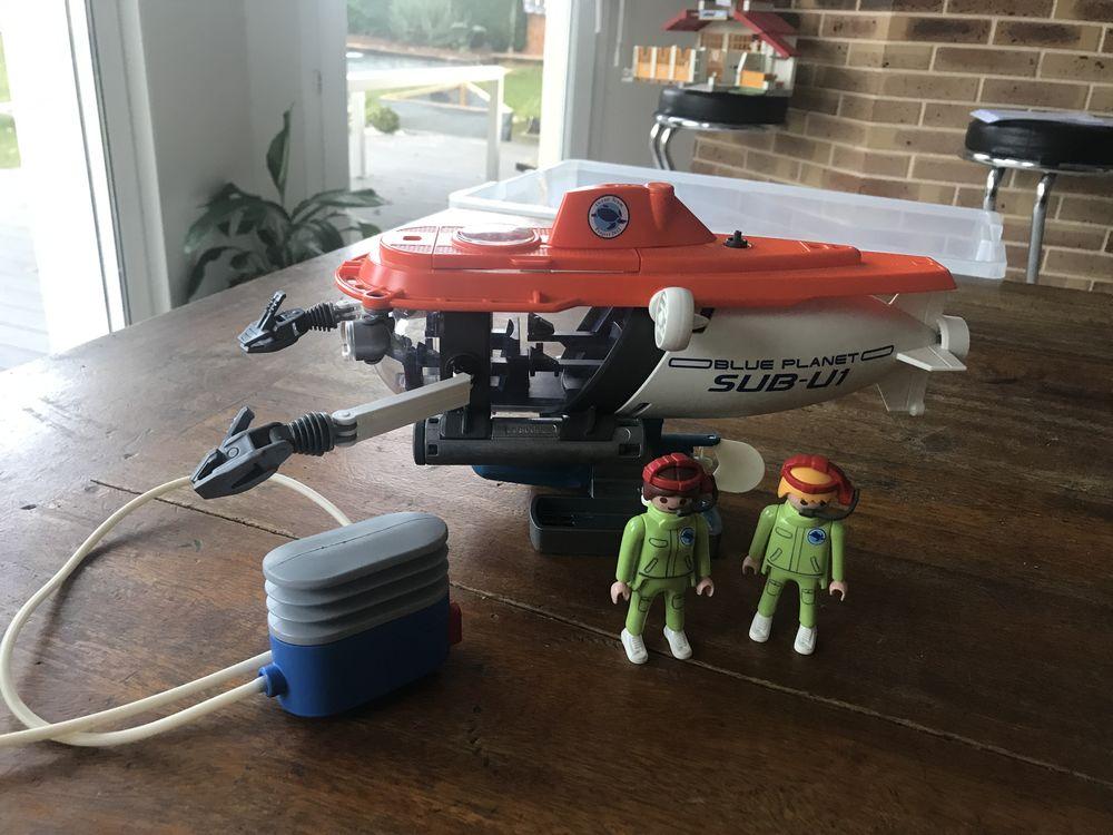 sous marin de recherche playmobil 45 Landéan (35)