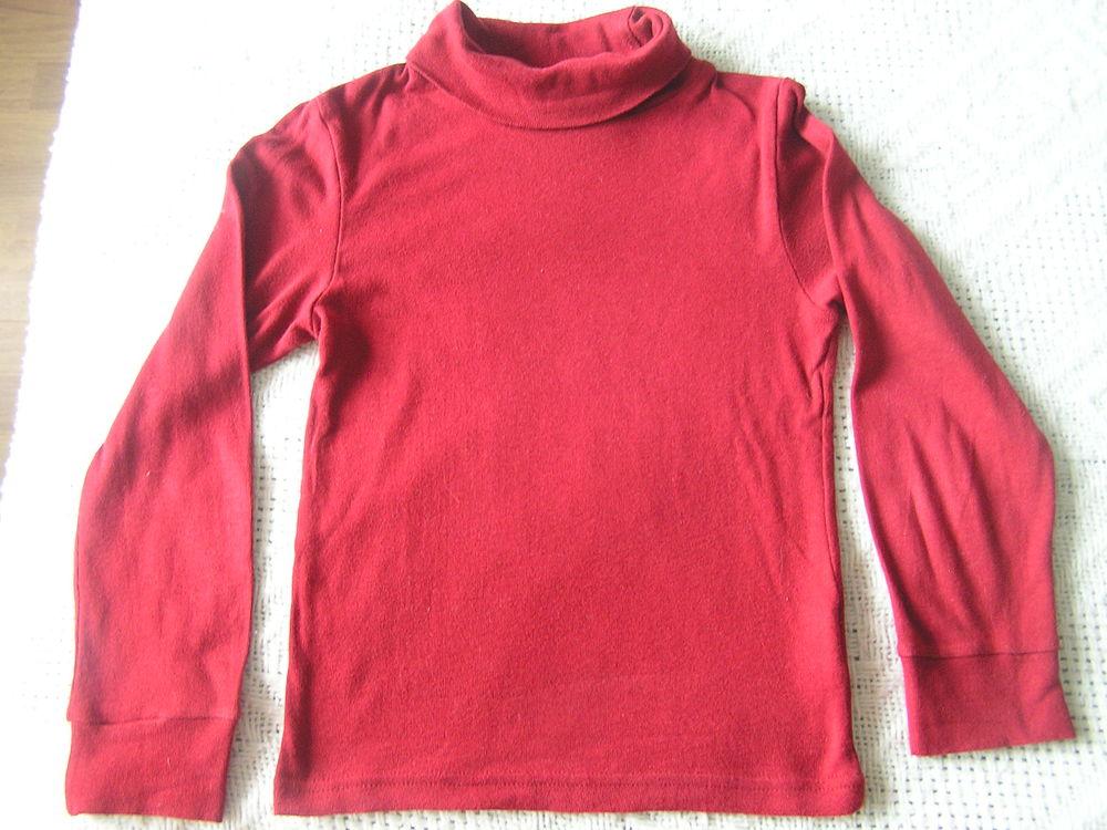 SOUS-PULL rouge, T. 6 ans, marque 3SUISSES Vêtements enfants