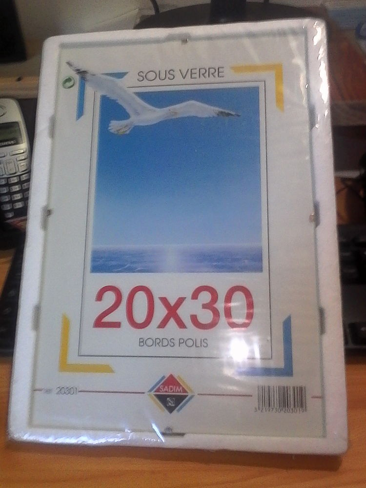 2 SOUS-VERRES POUR PHOTOS 20 X 30 Décoration