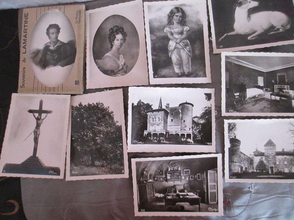 Souvenirs de LAMARTINE 12 photos  20 Alfortville (94)