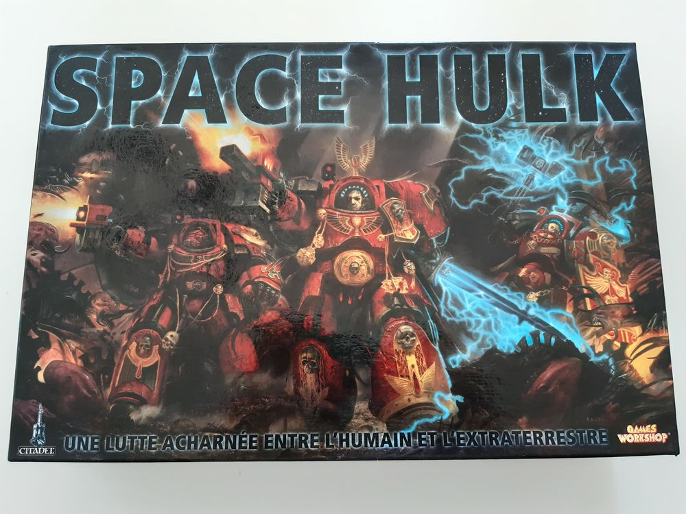 Space hulk jeu plateau vf 350 Ponteils-et-Brésis (30)