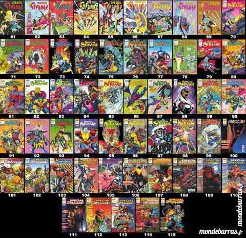 """""""Lot """"""""Special Strange"""""""" (LUG/Semic) (Marvel)"""" Livres et BD"""