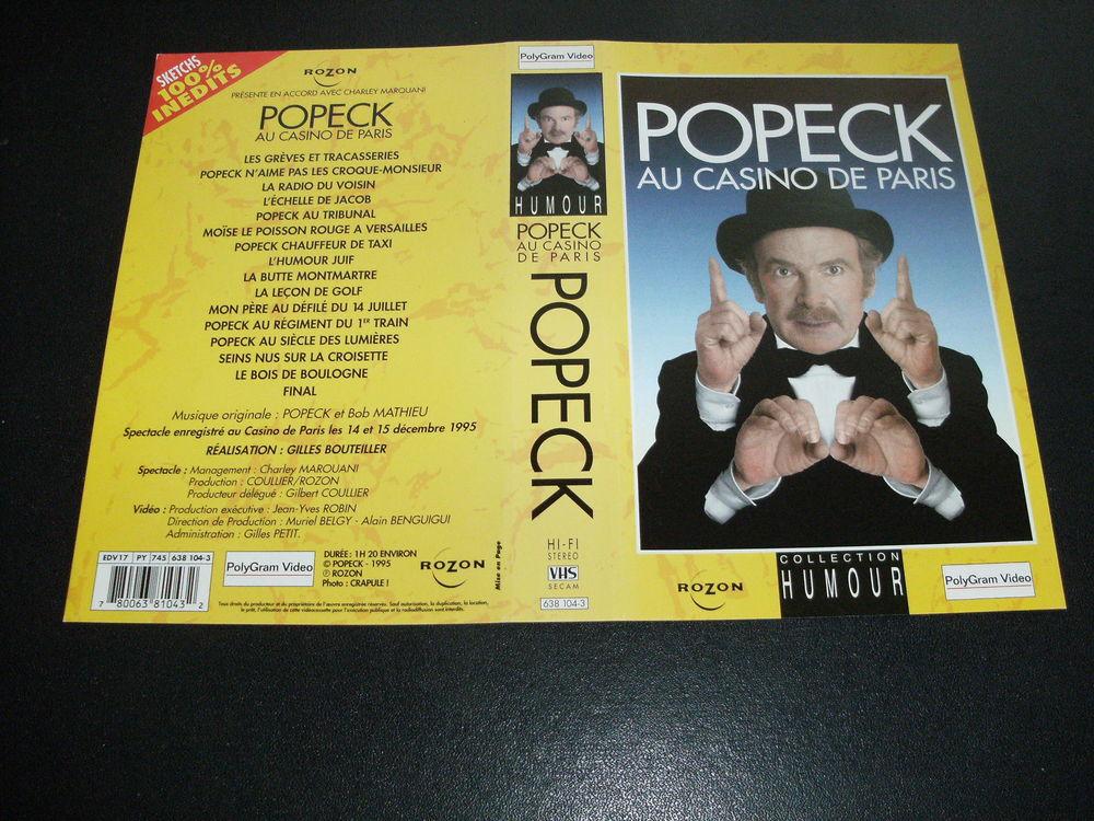 Spectacle :   Popeck au casino de Paris   35 Saint-Médard-en-Jalles (33)