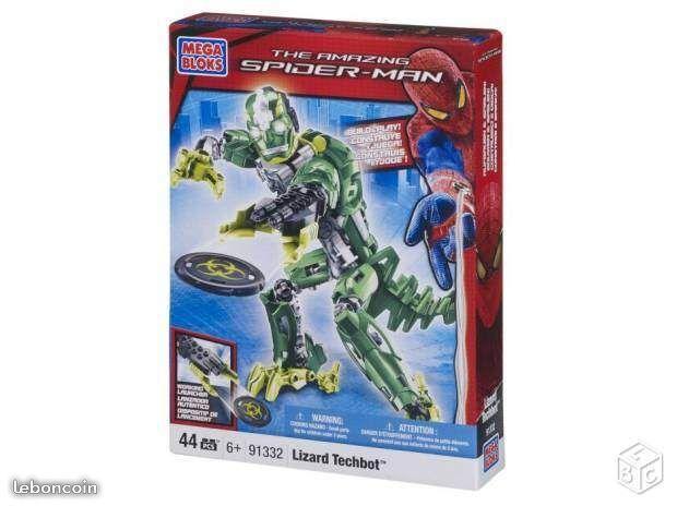 Spiderman 4 techbots lizard 10 Le Bouscat (33)