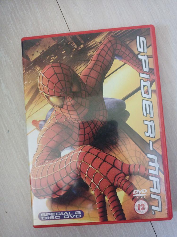 Spiderman DVD et blu-ray