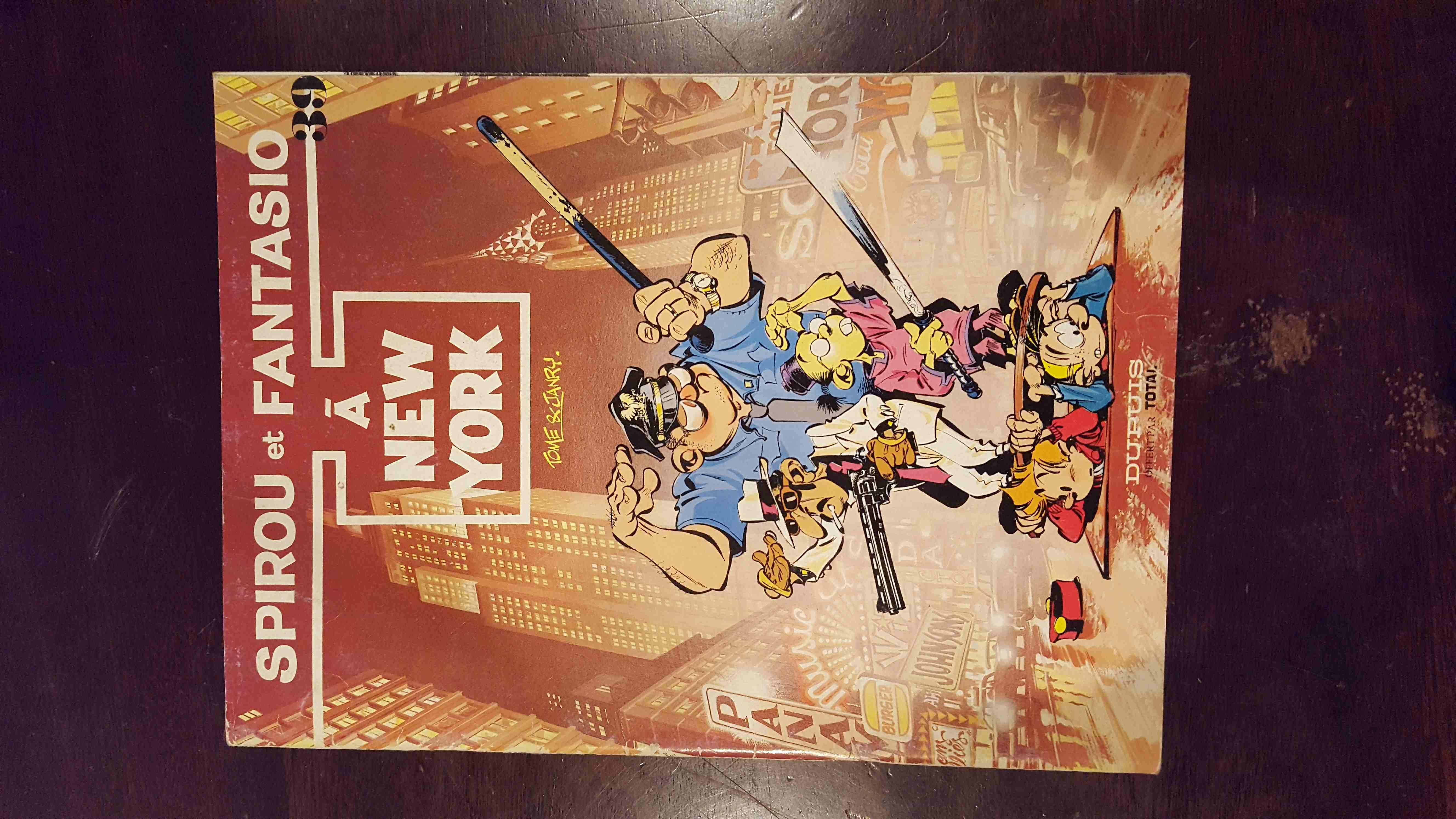 Spirou et Fantasio BD ancien 10 Sens (89)