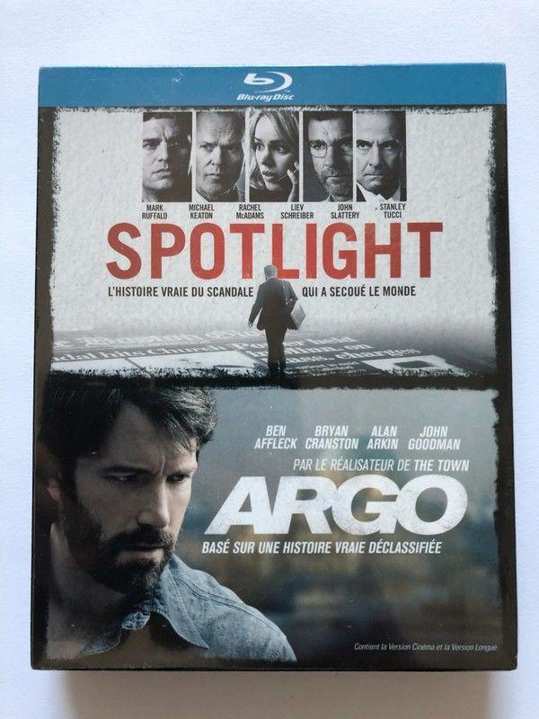 Blu-ray - Spotlight, Argo 8 Saint-Julien-lès-Metz (57)