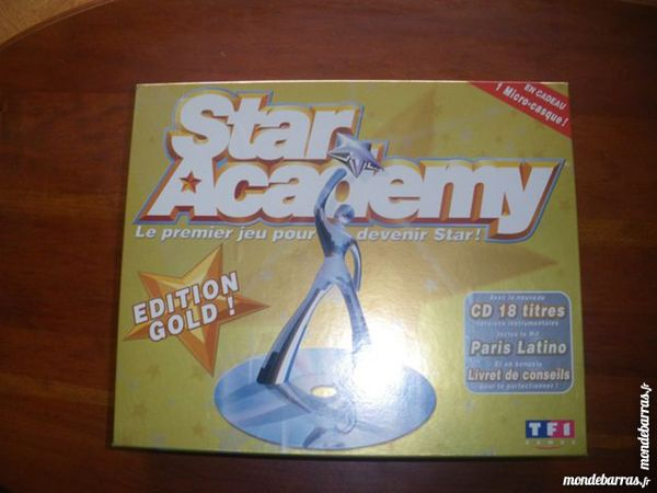 Jeu  Star Académy  (76) 10 Tours (37)