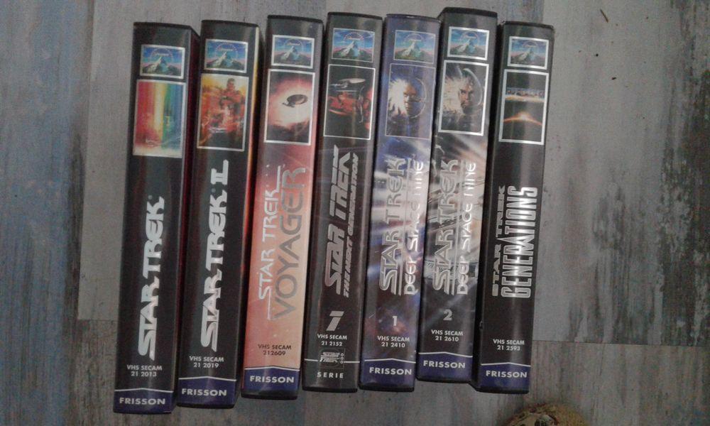 LOT K7 VHS  STAR TREK Détail possible 40 Saint-Jean-du-Cardonnay (76)