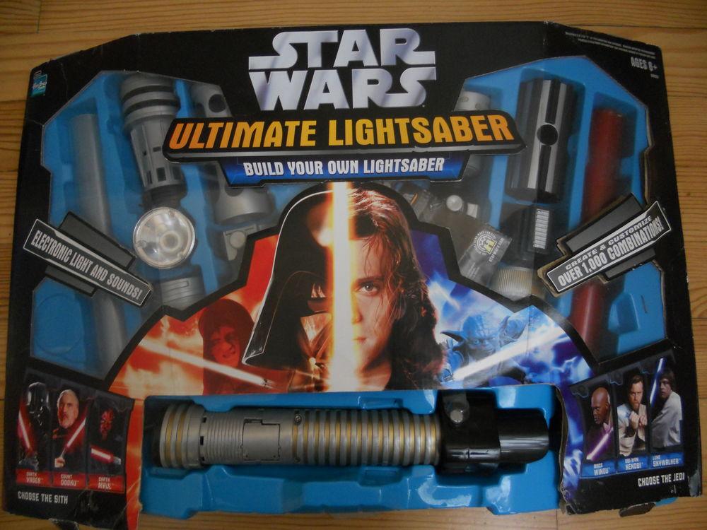 Star Wars. Sabres Laser. Le 1er kit (2005).TBE 60 Caen (14)