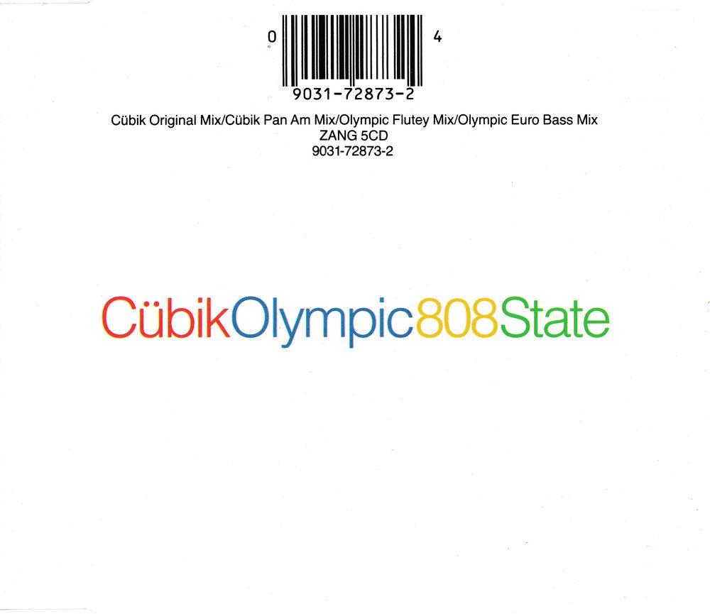 CD 808 State - Cu?bik / Olympic CD et vinyles