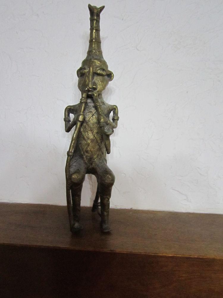 statue africaine en bronze  0 Vidauban (83)