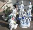 statue céramique