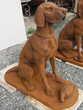 Statue chien en fonte Décoration