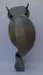 Statue de chouette en métal Décoration