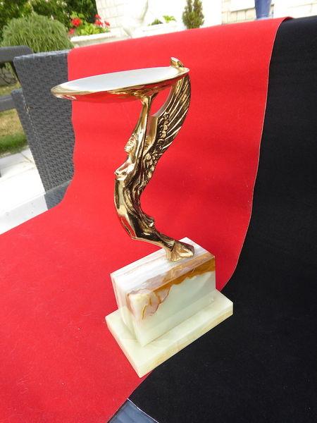 Statue dorée avec socle en onyx 50 Bièvres (91)