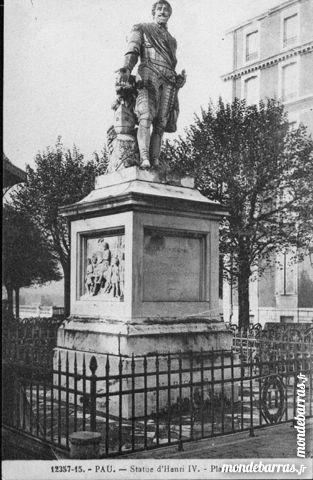 CPA Pau Statue Henri IV 4 Artagnan (65)