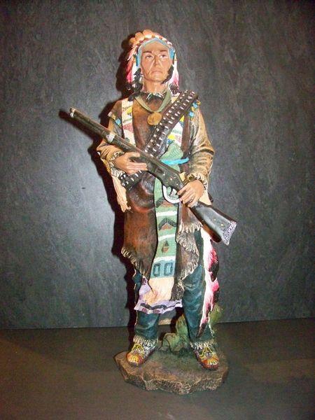 statue indien au fusil 20 Limas (69)