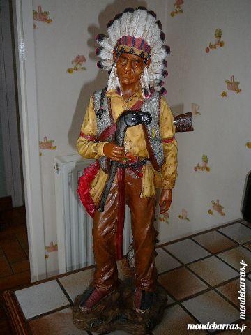 statue d'indien 25 Elbeuf (76)