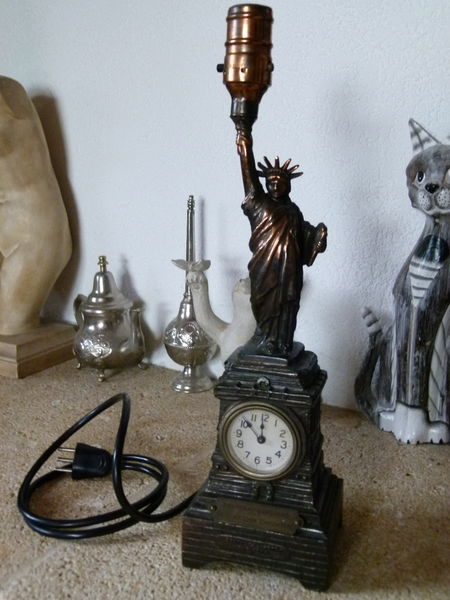 Statue de la liberté - socle de lampe 0 Magstatt-le-Bas (68)