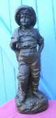 STATUE en platre représentant un  jeune garçon Hauteur 36 cm 30 Montauban (82)