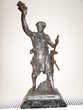 Statue Régule fin 19e Forgeron E.Picault 43cm