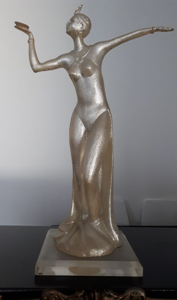 Statue/Sculpture style art déco, Italie 90 Le Thillay (95)