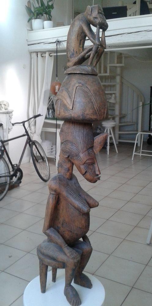STATUE SENOUFO * Art Nègre * Afrique * 100 cm 150 Toulon (83)