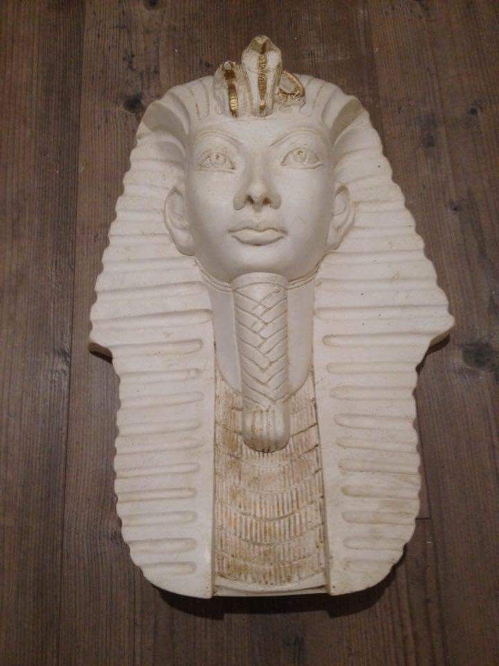 Statue tête égyptienne  20 Ruffieux (73)