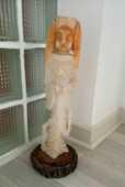 Statue vierge en albâtre (Grèce ) Orange 45 Périgueux (24)