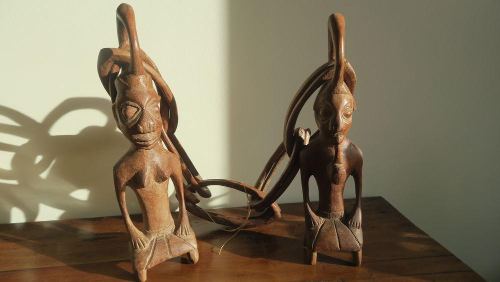 Statues sénégalaises  (chaîne mariage) 25 Poissy (78)