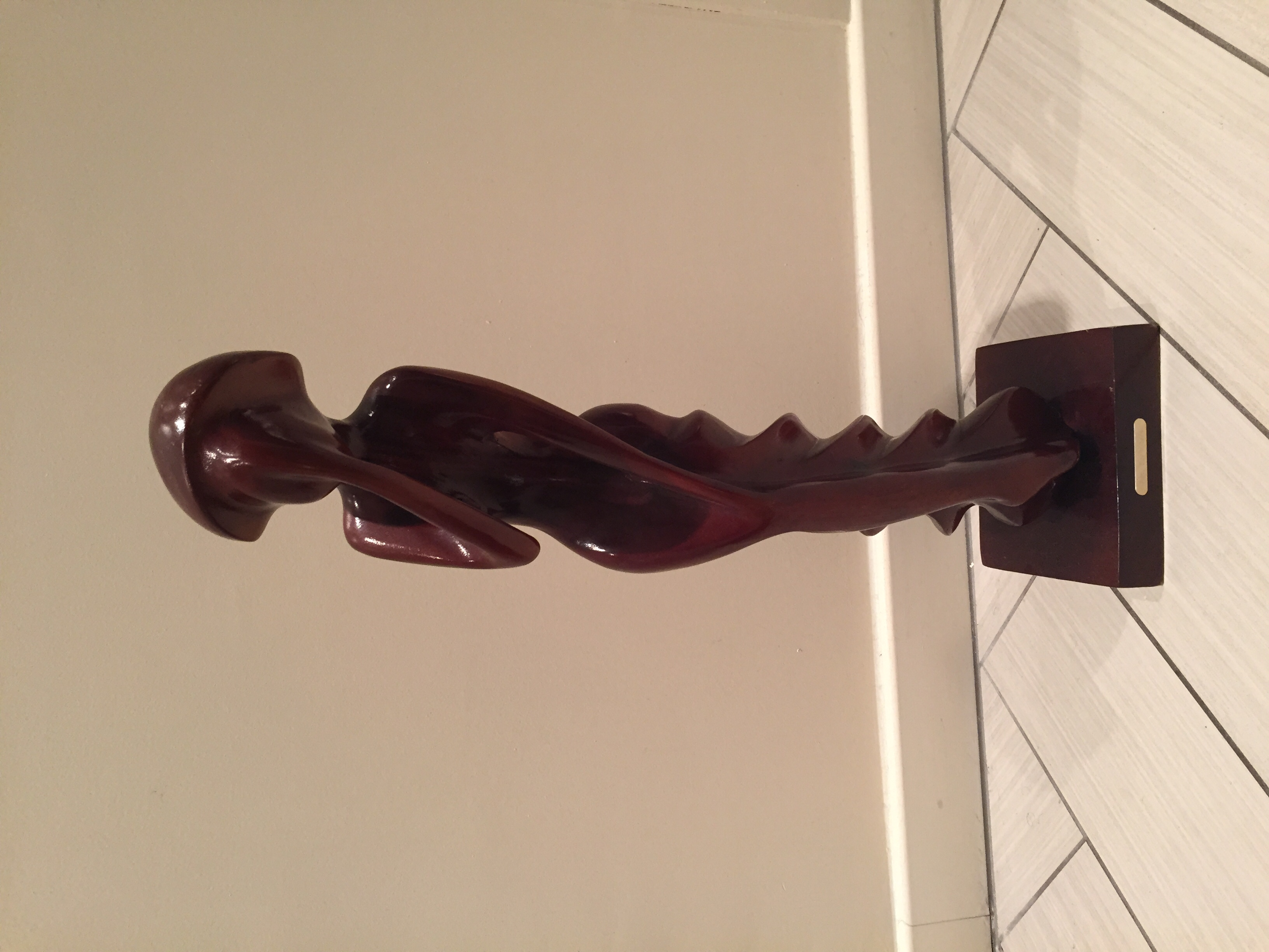 statuette en bois exotique 30 Paray-Vieille-Poste (91)