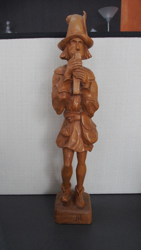 STATUETTE BOIS - TROUBADOUR (36 cm) 0 Nompatelize (88)