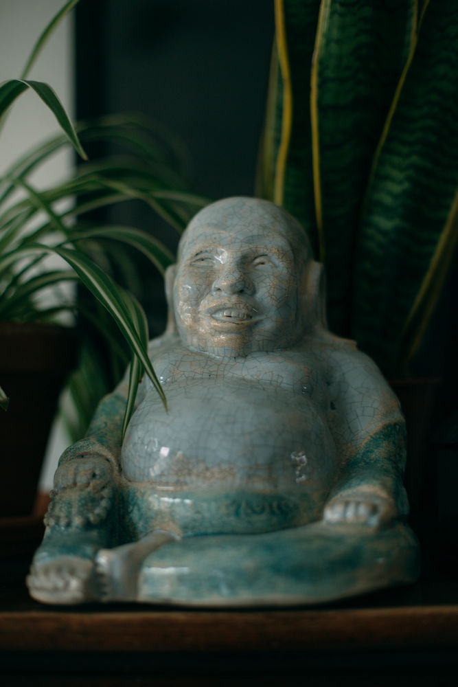 Statuette Bouddha 35 Lezennes (59)