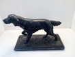Statuette chien de chasse
