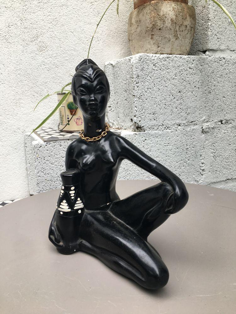 statuette femme noire pagliai 30 Bouillargues (30)