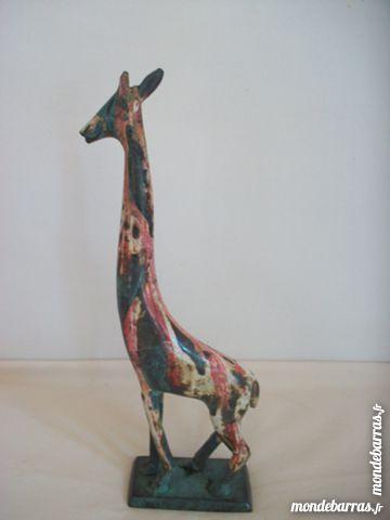 statuette girafe laiton vintage décoration Décoration