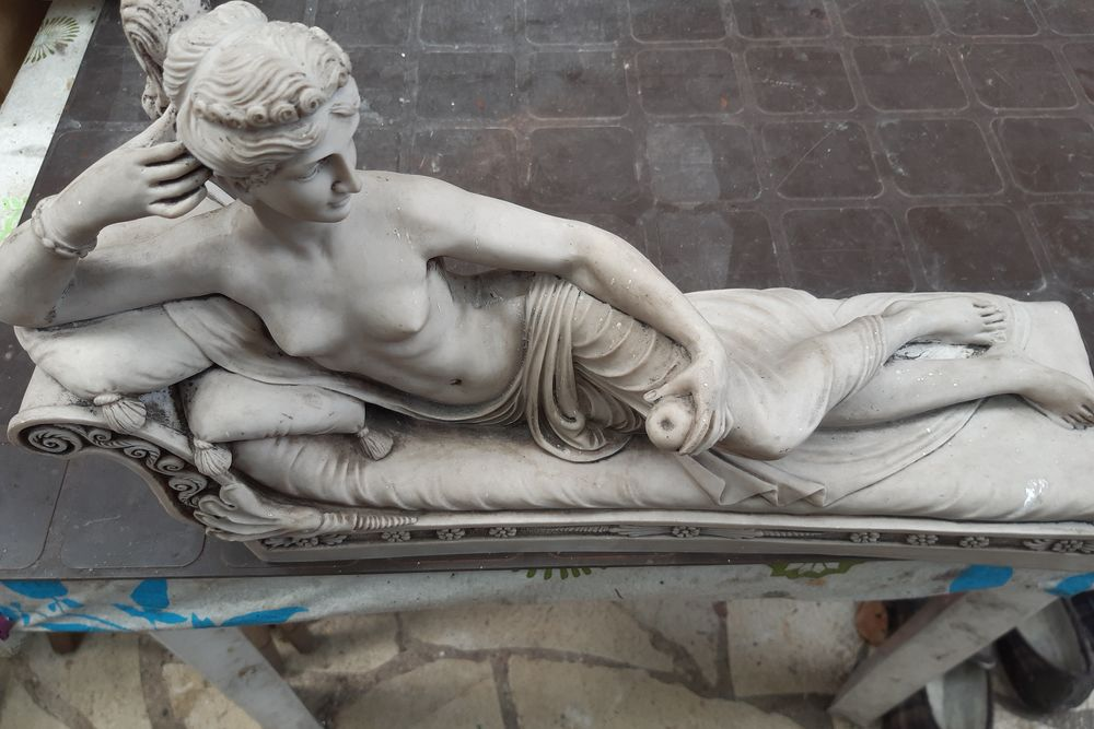 statuette marbre 150 Houilles (78)