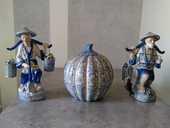 statuettes et pot asiatique 120 Vaulx-en-Velin (69)