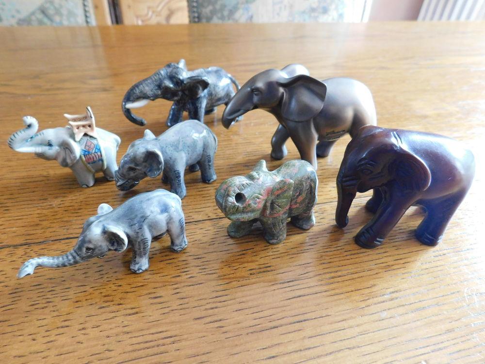 STATUETTES ELEPHANTS 0 Chavenay (78)