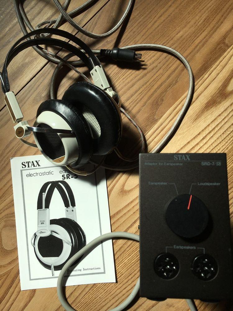 STAX SR-5 er SRD-7 470 Saverne (67)