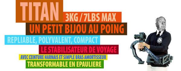Steadycam L'Aigle Titan Pack complet 0 Montsoult (95)