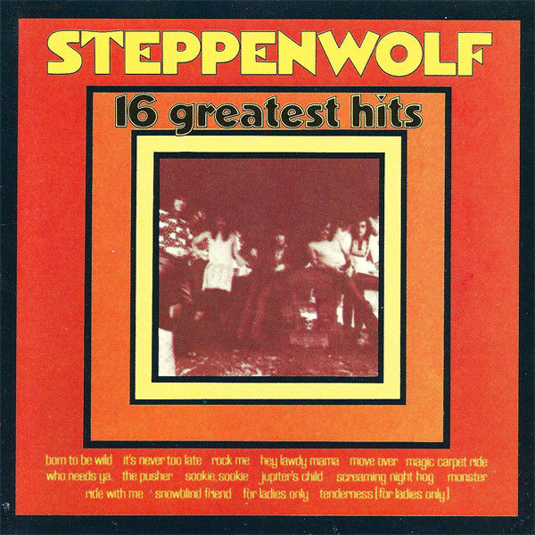 cd Steppenwolf ?? 16 Greatest Hits (etat neuf) 6 Martigues (13)