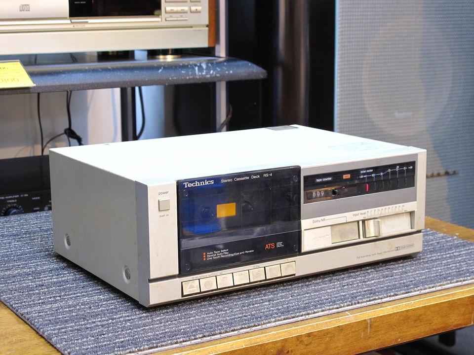 Stereo Cassette Technics RS-4 50 Bougival (78)