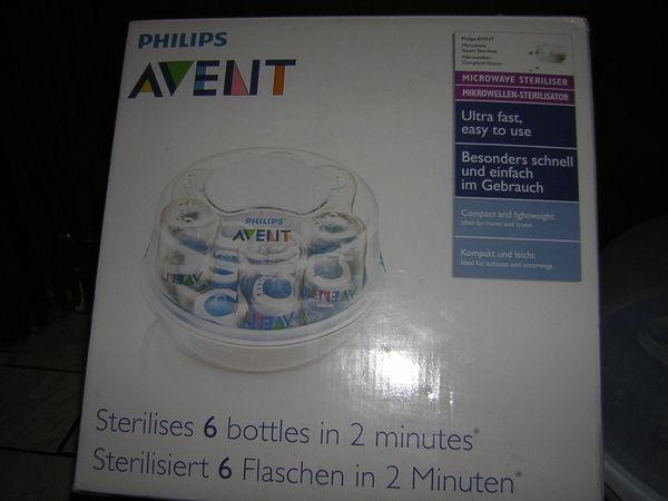 Stérilisateur  avent + biberons 18 Pontault-Combault (77)