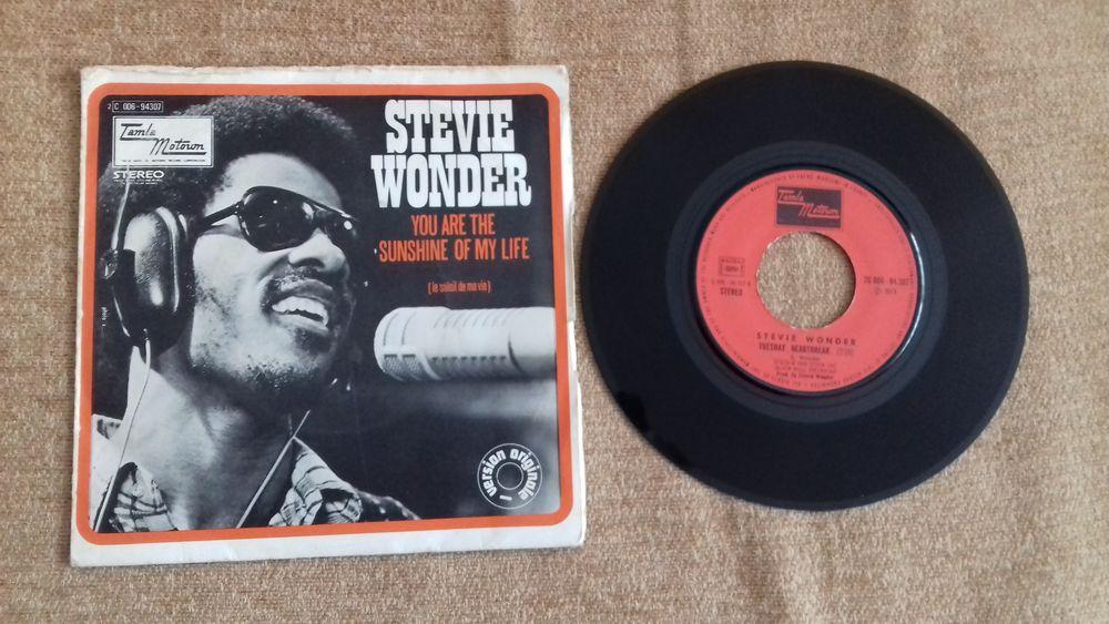 STEVIE WONDER, 1973, vinyle 45 tours 5 Éragny (95)