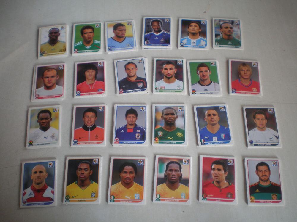 Stickers FOOT 2010 FIFA COUPE DU MONDE AFRIQUE DU SUD - PANI 1 Roncq (59)