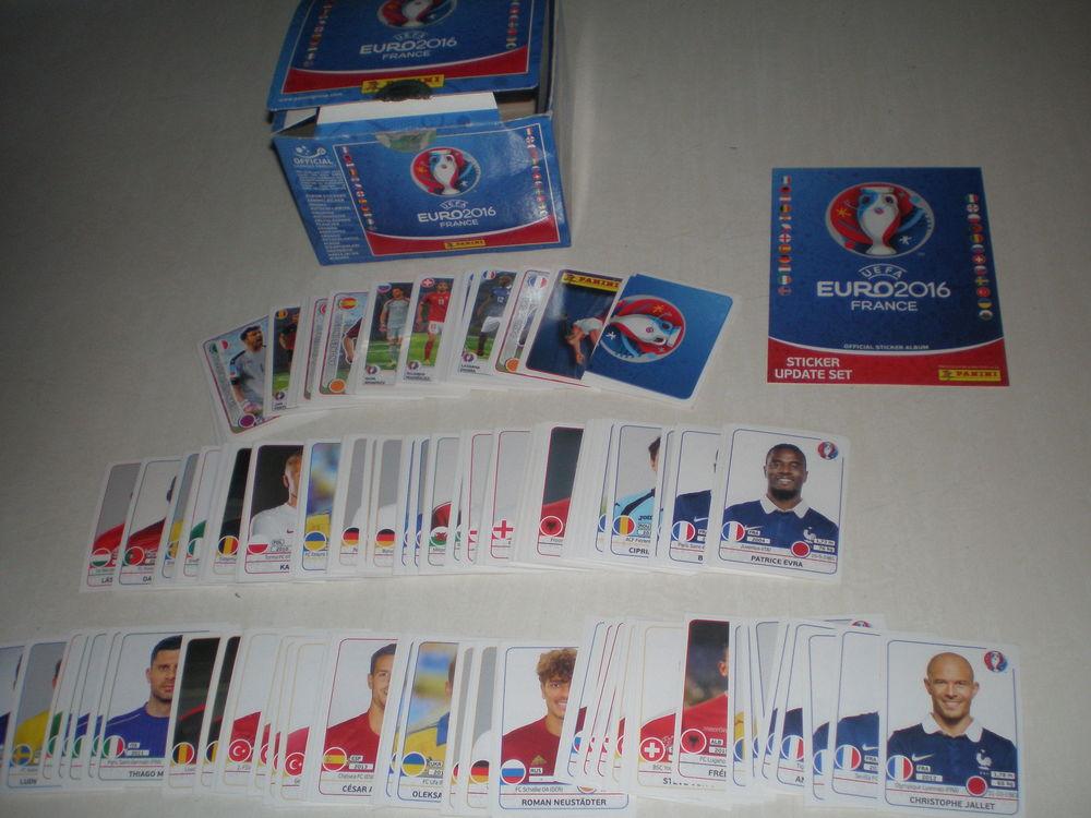 Stickers UEFA euro 2016 France - Panini 1 Roncq (59)