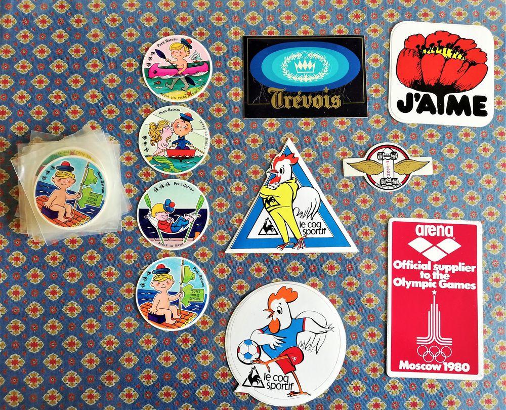 Stickers vintage : années 1980 - diverses marques de sport 3 Amiens (80)