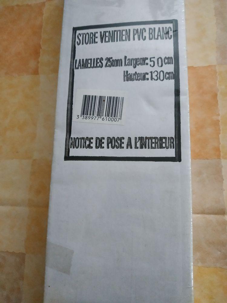 STORE VENITIEN PVC BLANC  10 Varennes-Vauzelles (58)